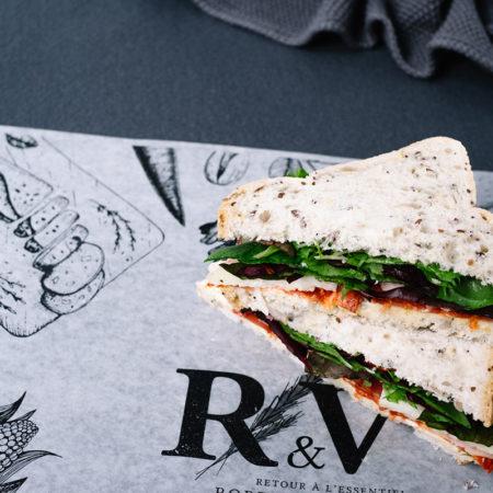Spanish Chorizo Gluten-Free Sandwich