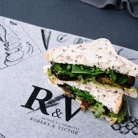 Guacamole Gluten-Free Sandwich