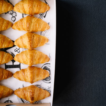 Box of Mini Croissants