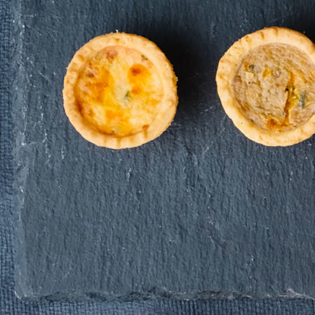 Mini Vegetarian Quiches