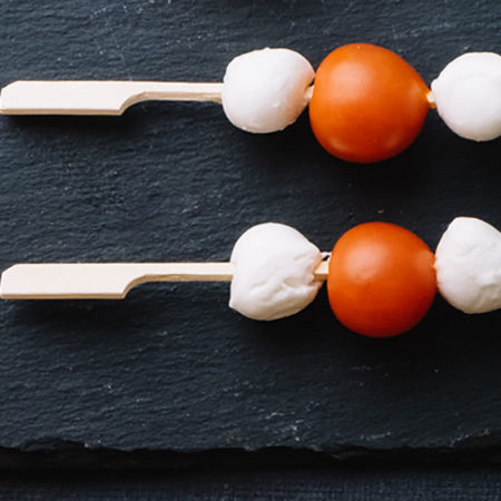 Mozzarella & Tomato Skewer