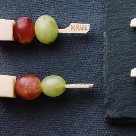 Emmental & Grape Skewer