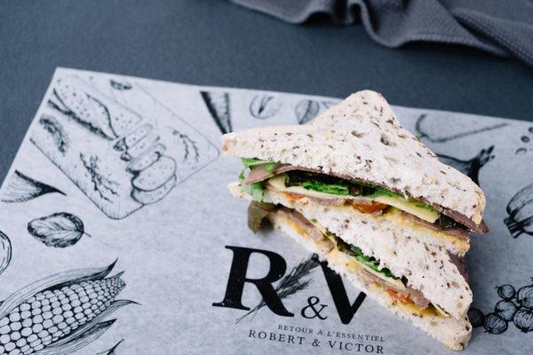 Roast Beef & Cheddar Gluten-Free Sandwich