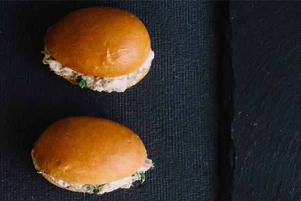 Tuna Salad Mini-Brioche