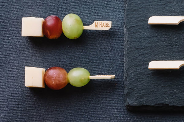 Emmental & Grape Skewer
