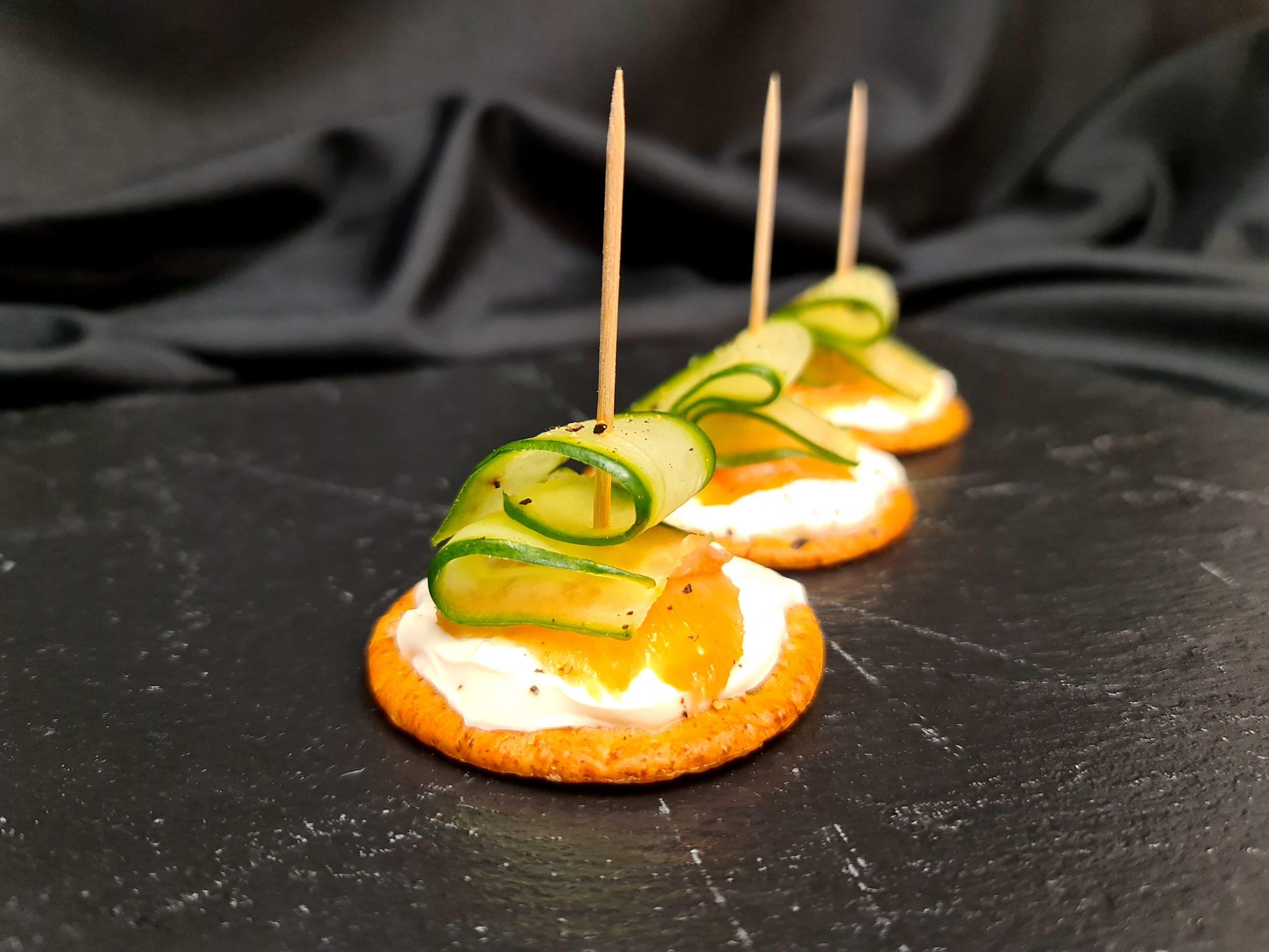 smoked salmon and cream cheese